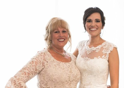 Mother of the Bride by Liz, Bride by Nicole